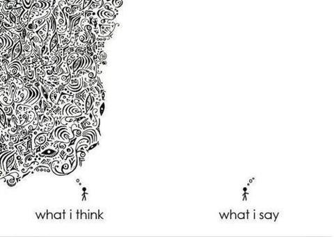 think-say